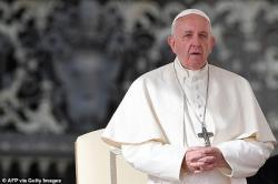 Lễ Phục Sinh  Giáo Hoàng Francis nói, Chúa Jesus chỉ sống lại dưới dạng